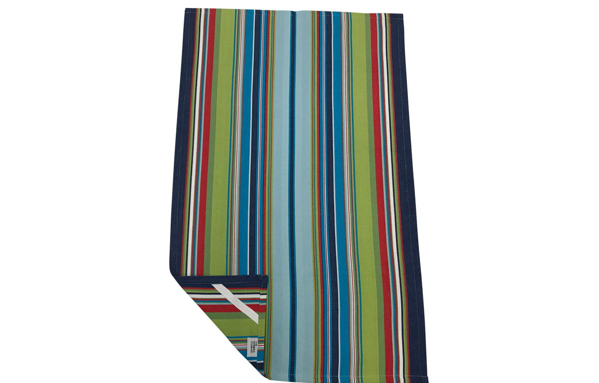 Navy Light Blue Stripe Tea Towels