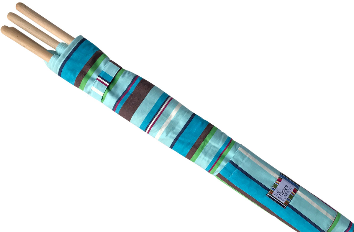 Turquoise Stripe Windbreak from The Stripes Company