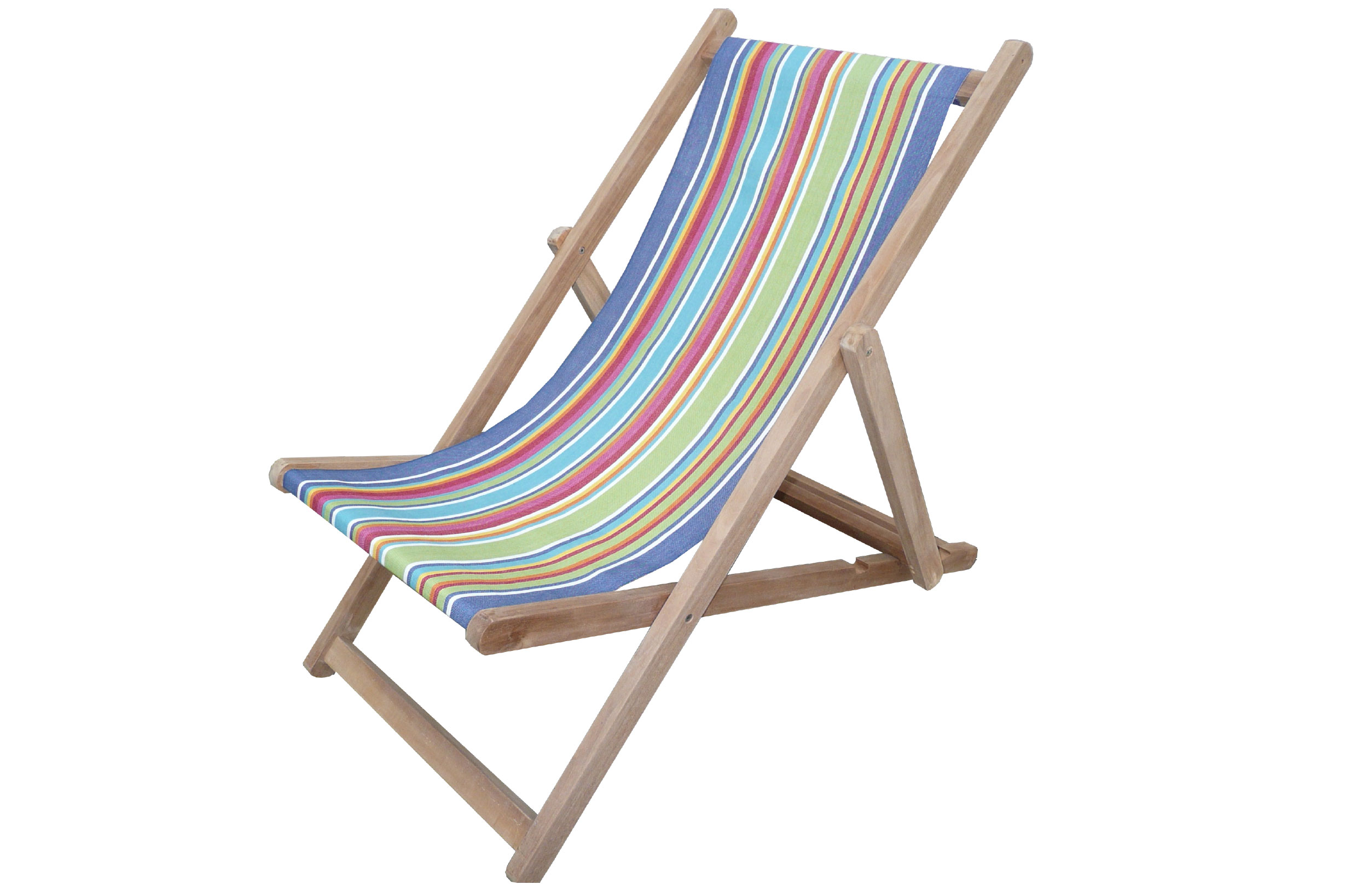 blue, green, red - Deckchairs | Buy Folding Wooden Deck Chairs